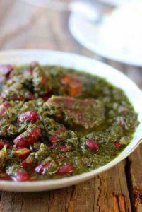 イランの代表的な家庭料理「ゴルメ・サブズィ」