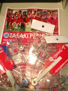 TASAKIペルーレFCからプレゼント♪