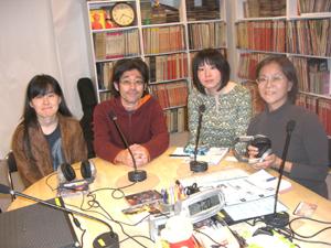 名倉さん、阿部さん、山田さん、マリナさん