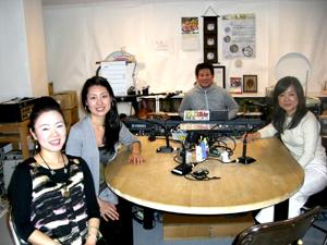 李浩麗さんをゲストにお迎えし、松方ホールでの演奏会のお話
