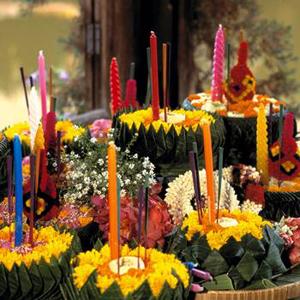 タイの灯篭祭