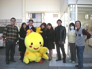 FMわぃわぃに兵庫県のマスコットはばタンがやってきた!