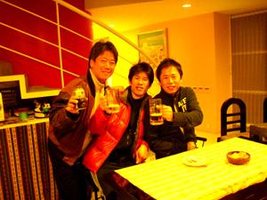 ねねコーナーで橋本さんとリンとトン