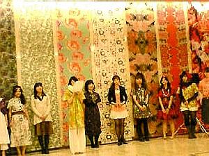京都造形芸術大学の卒業制作のファッションショー