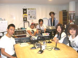 関西学院大学第4回目放送の学生たち