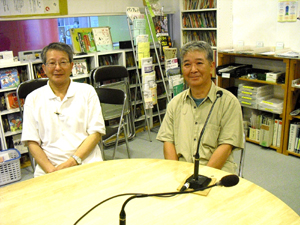 ユンダルセさんと西堀松生さん