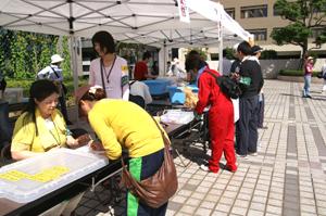 ボランティア参加者