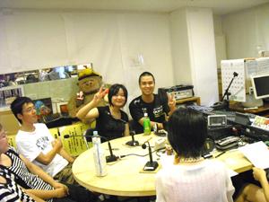 われら学校放送部この時期は3年生の引退記念の生放送です。前半は「兵庫県立北須磨高等学校」