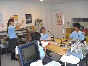 「われら学校放送部」須磨翔風高等学校が第3週土曜日の後半を担当します。