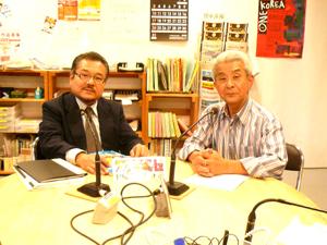 10月の「大震災を語り継ぐ」のゲストはサンTVの門前喜康さん。震災後大転換したメディアへの視点。