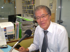 震災当時ラジオ関西で防災情報の陣頭指揮に立っていた山田健人さんに聞く『音のもつ力』