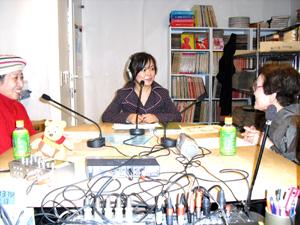 中国語番組『華声』ゲスト番組担当馬浪のお迎えしたのは、若柳小三郎さん