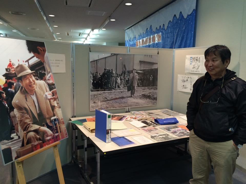 2014年震災資料室展「寅さんコーナー」