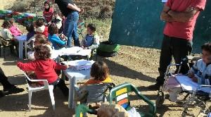 パレスチナ青空小学校