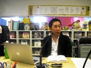 粟田隆央さん慧通信技術工業株式会社