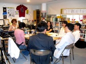 ソウル大学日本研究所「大震災と社会変動研究会」の教授たち