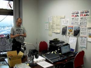 宮古FMにてFM守口吉岡さん