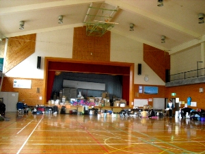 遠野福祉センター宿泊施設(体育館)