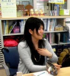 岩手県立大学学生ボランティアセンター副代表阿部美智子さん