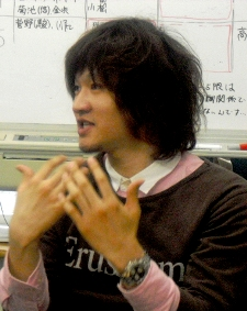 岩手県立大学学生ボランティアセンター代表早川陽さん