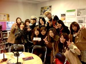 放送を終えて神戸常盤大学生