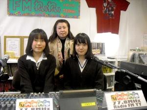 神戸市立六甲アイランド高校生活福祉系の先生と生徒