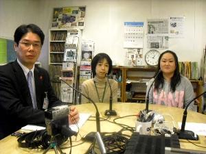 井上さん、宮本さん、竹田さん