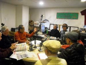 今日も元気な「アフタヌーンねね」仙台市国際交流協会・国際交流センターの高平さんが参加しました。