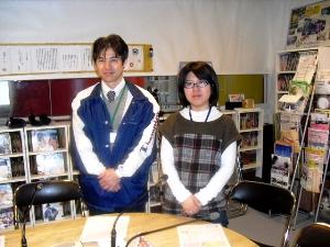 岡田課長とスタッフ田中さん