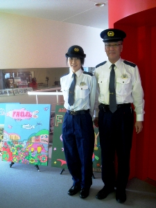 警察の夏服