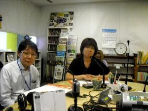 上野さんと鈴江幸子さん