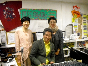 溝江さん、小林さん、早田さん