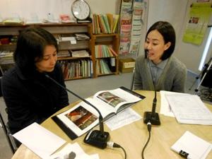 岡登志子さんと田中幸恵さん