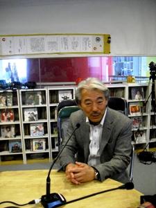 4月の「大震災を語り継ぐ」神戸常盤大学足立了平教授が出演