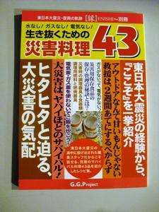 東日本大震災・復興の軌跡「縁(ENISHI)」~別冊水なし!ガスなし!電気なし!生き抜くための災害料理43