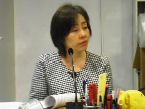 5月の大震災を語り継ぐは、3年の時間を経て、大阪府立大学客員研究員山地久美子さんの再登場