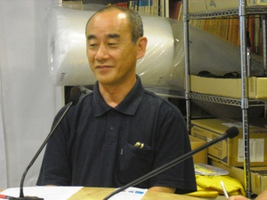顧問青木典司さん