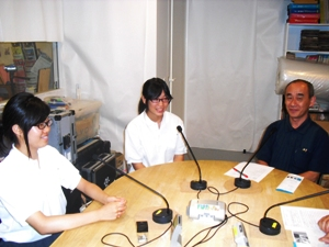 2013年9月の大震災を語り継ぐは、神戸須磨翔風高校「われら学校放送部」が取り組む「語り継ぎ」への思い