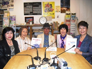 「ももっちおばちゃんのラジオお昼便」ゲストをお迎えしての放送です。
