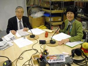 中田進さんと溝江玲子さん