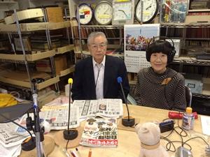中田進さんと溝江さん