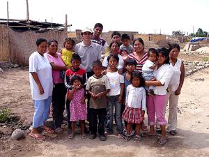 ペルー地震被災地チンチャ訪問
