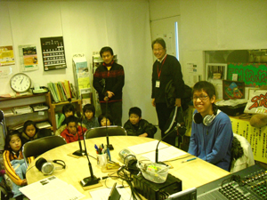関西学院大学中谷くんと明親小学校5年