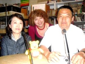 東北朝鮮学校尹鐘哲校長とインヂョルジェ金桂花さん