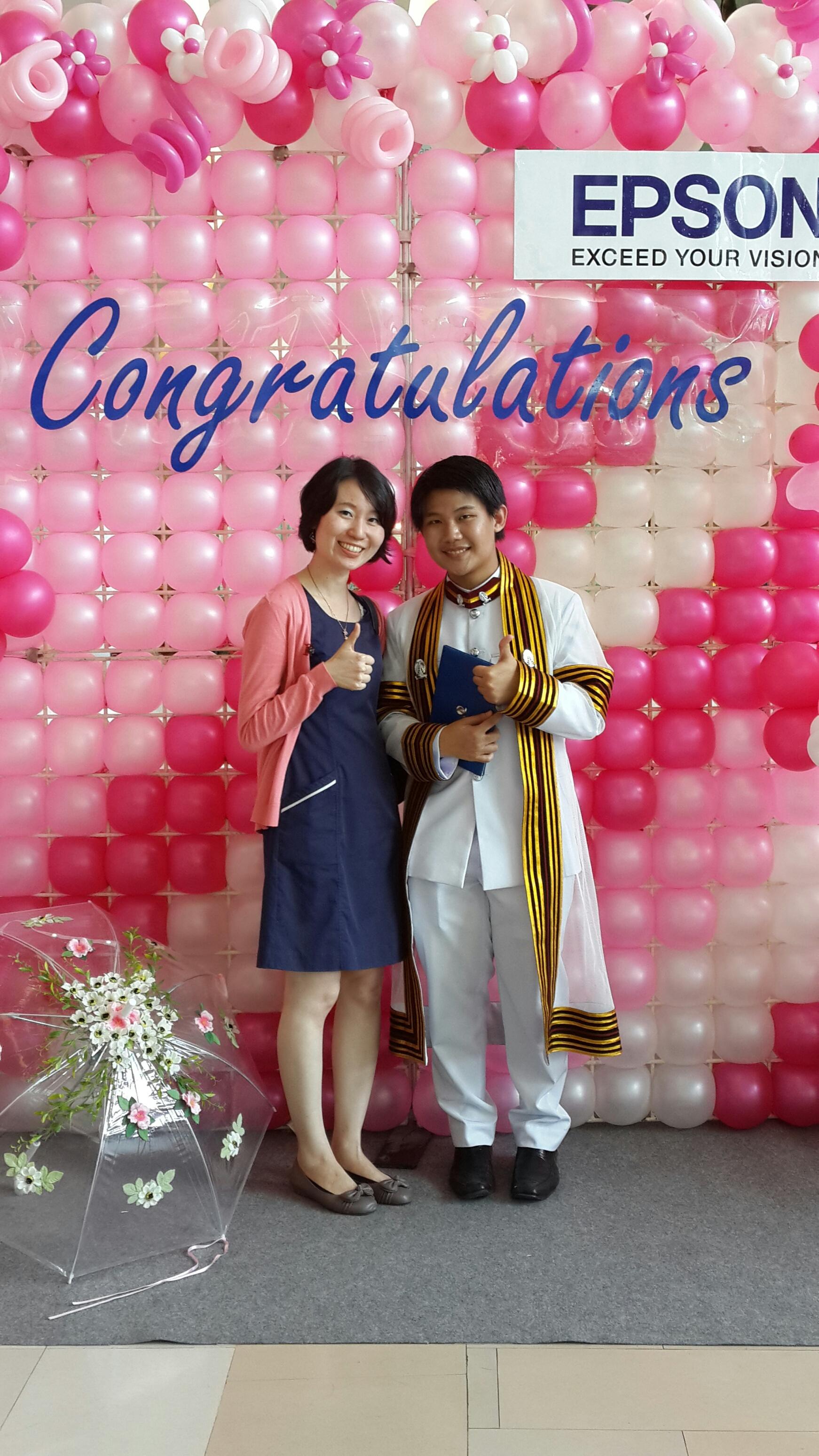 タイの卒業式