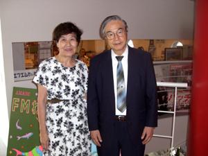 溝江さんと中田進さん