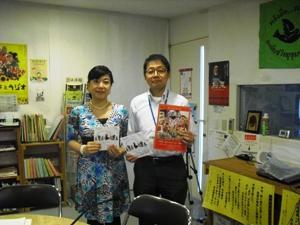 飯山嘉子さんと上野さん