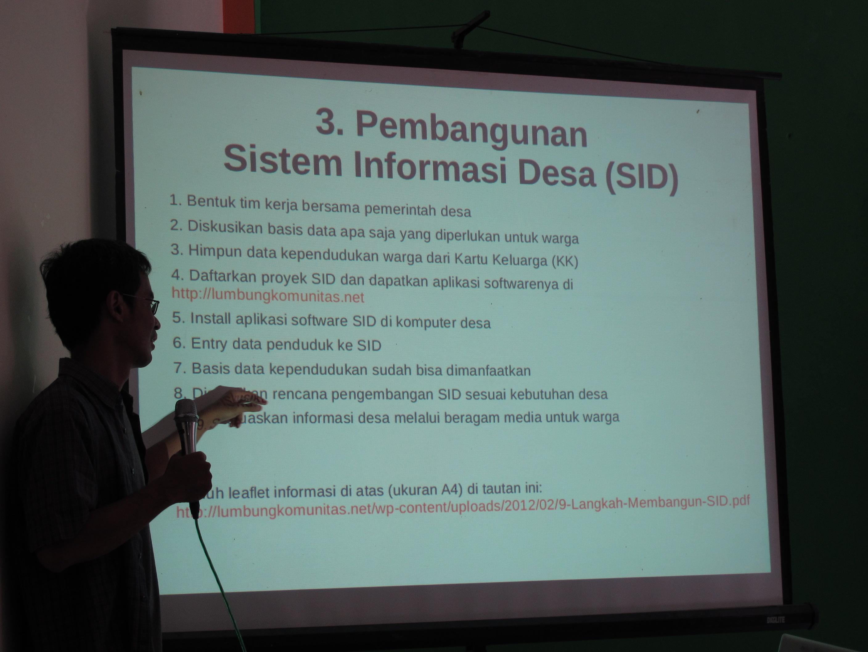 ムラピ山麓における村落情報システムの構築 ~ コミュニティの防災力向上へ向けて