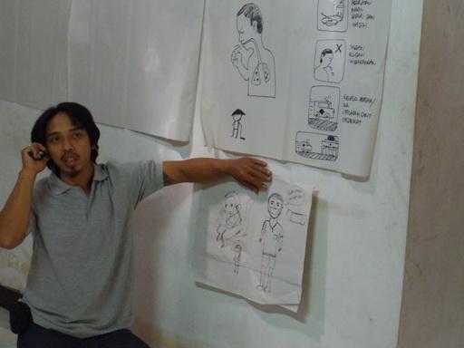 防災カードゲーム作成に向けて~タルン村でのコミュニティ防災活動近況報告~