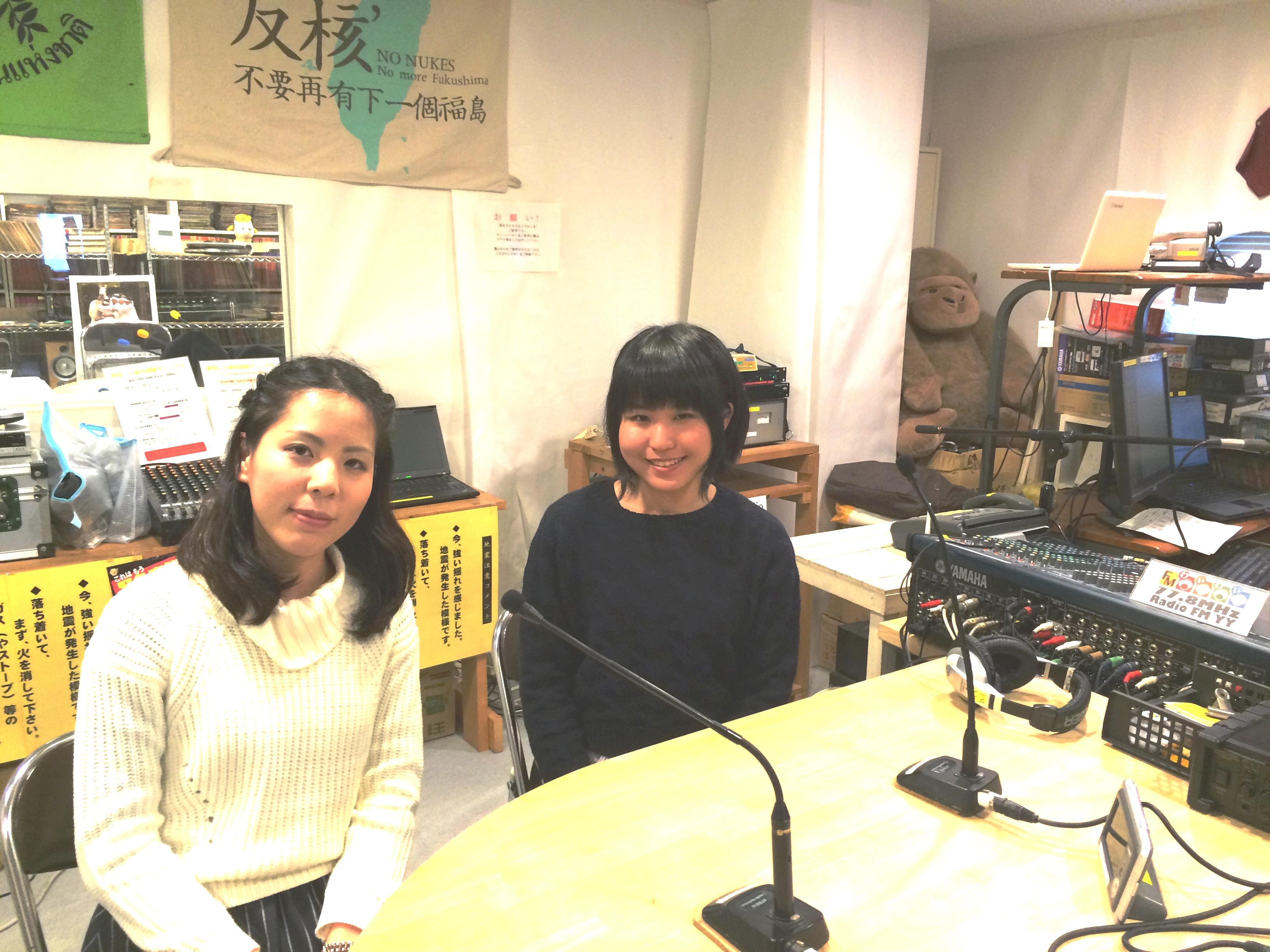 関西学院大学3年稲岡さんと山本さん